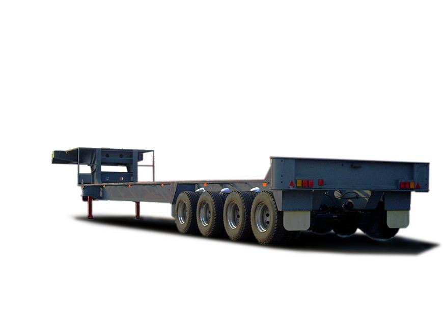 低平板(石油钻井设备专用车